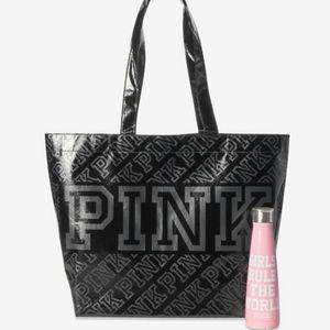 Victoria's Secret PINK Girls Rule Bottle and Bag